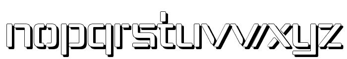 Republika IV - Shadow Font LOWERCASE
