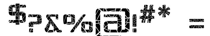 Republika IV - Shatter Font OTHER CHARS