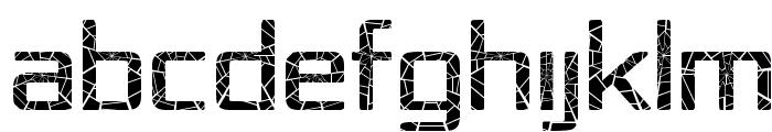 Republika IV - Shatter Font UPPERCASE