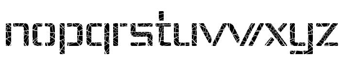 Republika IV - Shatter Font LOWERCASE