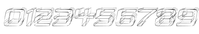 Republika IV - Sketch Italic Font OTHER CHARS