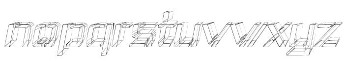 Republika IV - Sketch Italic Font LOWERCASE