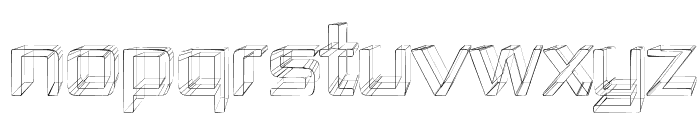 Republika IV - Sketch Font UPPERCASE