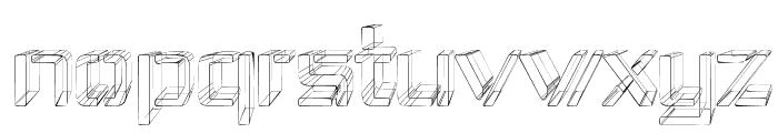 Republika IV - Sketch Font LOWERCASE
