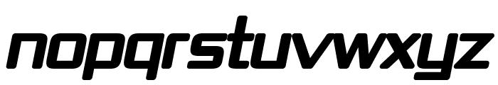 Republika IV - Ultra Italic Font UPPERCASE