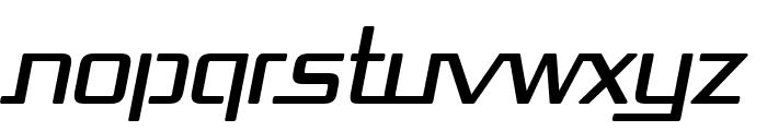 Republika Italic Font UPPERCASE