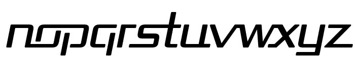 Republika Italic Font LOWERCASE