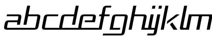 Republika - Light Italic Font UPPERCASE