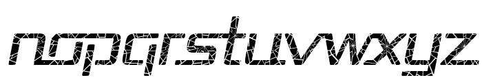 Republika - Shatter Italic Font LOWERCASE