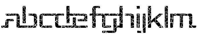 Republika - Shatter Font LOWERCASE