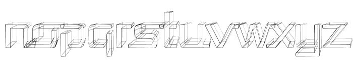 Republika - Sketch Font LOWERCASE