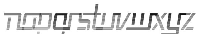 Republika V Cnd - Haze Italic Font LOWERCASE
