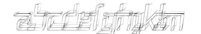 Republika V Cnd - Sktech Italic Font UPPERCASE