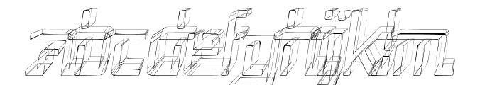 Republika V Cnd - Sktech Italic Font LOWERCASE