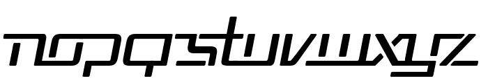 Republika V Italic Font UPPERCASE