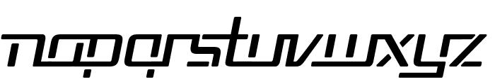 Republika V Italic Font LOWERCASE