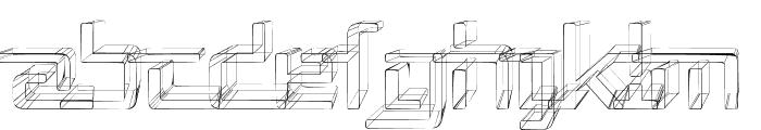 Republika V - Sketch Font UPPERCASE