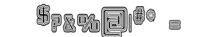Republikaps Cnd - Maze Font OTHER CHARS