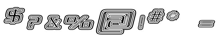 Republikaps Exp - Maze Italic Font OTHER CHARS
