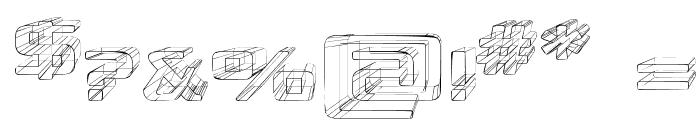 Republikaps Exp - Sketch Font OTHER CHARS