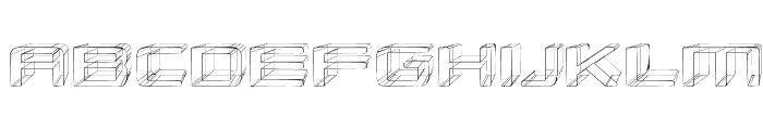 Republikaps Exp - Sketch Font UPPERCASE