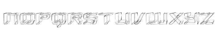 Republikaps Exp - Sketch Font LOWERCASE