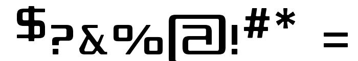 Republikaps - Light Font OTHER CHARS