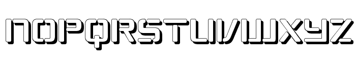 Republikaps - Shadow Font LOWERCASE