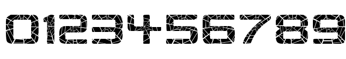 Republikaps - Shatter Font OTHER CHARS