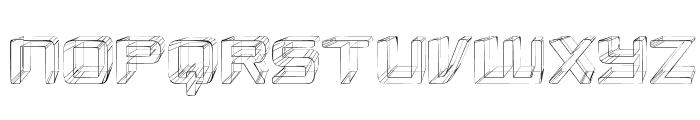 Republikaps - Sketch Font UPPERCASE