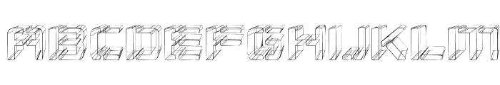 Republikaps - Sketch Font LOWERCASE