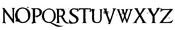 Requiem II Font UPPERCASE