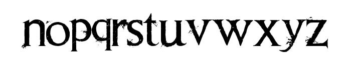 Requiem II Font LOWERCASE