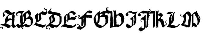 Requiem for A Font UPPERCASE