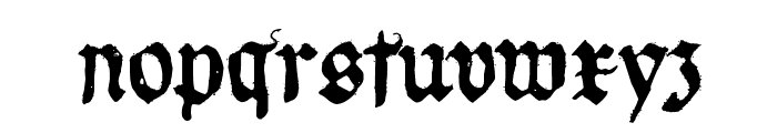 Requiem for A Font LOWERCASE
