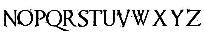 Requiem Font LOWERCASE