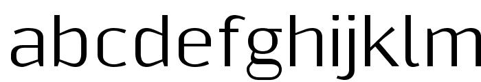 Resagnicto Font LOWERCASE