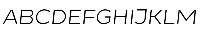 Resamitz Italic Font UPPERCASE