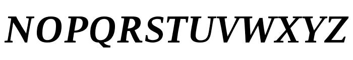 Resavska BG-Bold Italic Font UPPERCASE