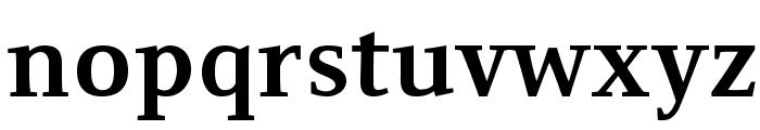 Resavska BG-Bold Font LOWERCASE