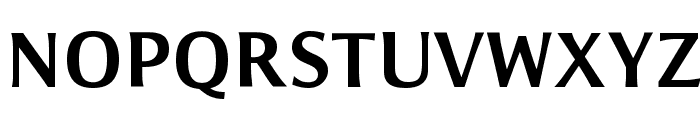 Resavska BG Sans Bold Font UPPERCASE