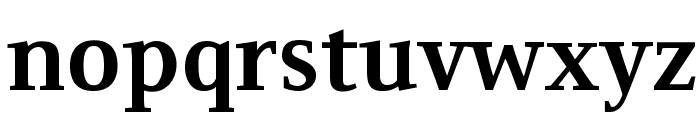 Resavska BG TT-Bold Font LOWERCASE
