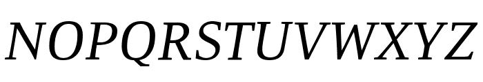 Resavska BG TT-Italic Font UPPERCASE