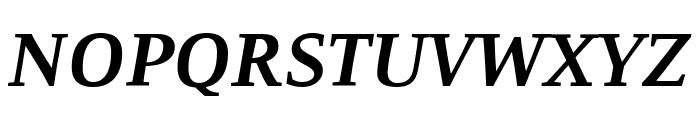Resavska BG YU-Bold Italic Font UPPERCASE