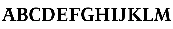Resavska BG YU-Bold Font UPPERCASE