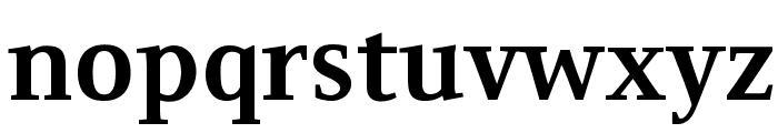 Resavska BG YU-Bold Font LOWERCASE