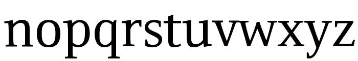 Resavska BG YU Font LOWERCASE
