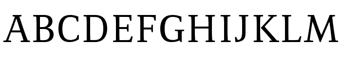 Resavska BG Font UPPERCASE