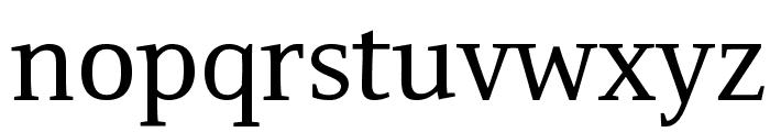 Resavska BG Font LOWERCASE