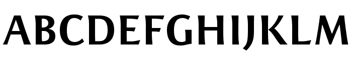 ResavskaBGSans-Bold Font UPPERCASE